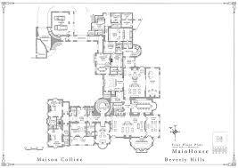 mega mansion floor plans. Exellent Mega Mega Mansion Floor Plans Magnificent Mansions More Maison Colline Beverly  Hill First Plan Marvelous To R