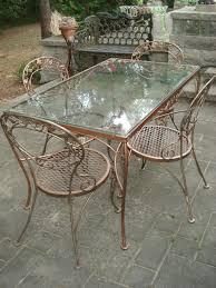 Fabulous chantily rose woodard patio vintage mid cent