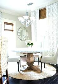 dining tables next dining table and chairs round on rectangular rug chic for in entry