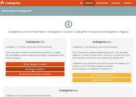how to create a new codeigniter project