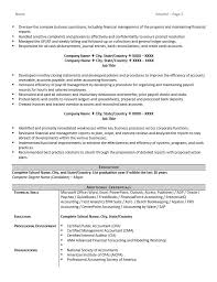 Professional Accountant Resume Accountant Resume Example And 5 Great Tips To Writing One