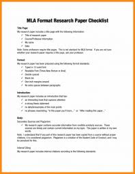 014 Mla Style Research Paper Format Best Of Sample Outline