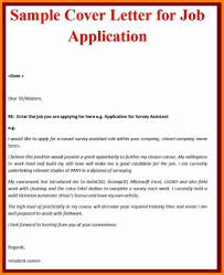 Shocking Cover Letter Example Job Application What Is A Cover Letter