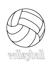 Small Picture Brilliant Ideas of Volleyball Coloring Pages To Print On Format