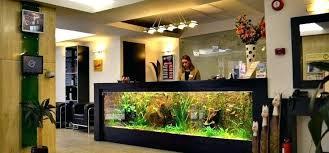 office desk aquarium. Desk Fish Tank Cool Reception The Aquarium At Entrance Of . Office
