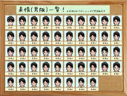 表情と髪型の一覧を作りました改訂第3版 イルーナ戦記