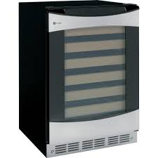 profile 57 bottle wine cooler in stainless steel