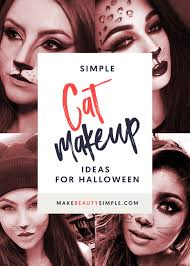 looking for some inspiration we ve got some simple cat makeup ideas for