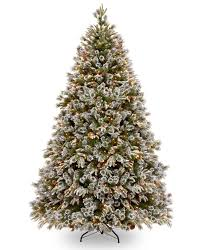 6ft Pre-lit Liberty Pine Decorated Feel-Real Artificial Christmas Tree