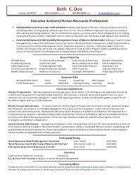 Sample Resume Of Hr Resume Cv Cover Letter