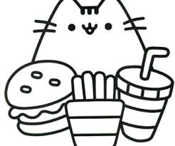 Since spring is dominated by different flowers in different colors, this coloring page is appropriate for the theme. Pusheen Halloween Coloring Pages Tag Pusheen Coloring Pages Printable Cat Pictures To Color Christmas Kawaii Oguchionyewu