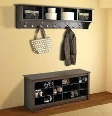 Diy Wall Mounted Coat Rack With Shelf New Coat Hanger Shelf Wall Mounted Coat Hanger Furniture Wall Mounted