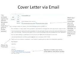 sample email cover letter with resume included writing an email cover letter sample email cover letter with resume