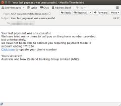 Scam Support au Nsw Anz 1 - com Mailguard Sydney Managed Services Ltd Intellitek Phishing It Pty