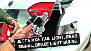 2012 Vw Jetta Brake Light Replacement Vw Jetta Mk6 Rear Tail Light Brake Light Turn Signal Light Bulb Replacement