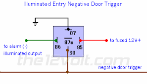 wire diagram negative door trigger relay fade negative wire diagram negative door trigger relay fade negative door triggers