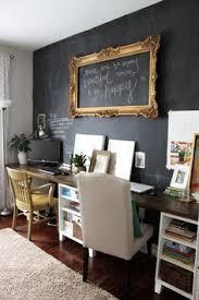wall office desk. sweet chalkboard wall for an office setting the framed message idea is cool desk