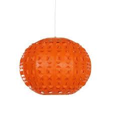 Oranje Space Age Hanglamp Uit De Jaren 70 Vintage Design Lampen