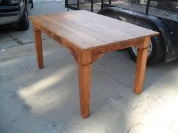dining room table made in usa. custom made dining table from reclaimed wood in the usa room e