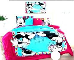 minnie mouse bedding twin mickey mouse and mouse kissing bed set mickey and mouse bedroom mickey