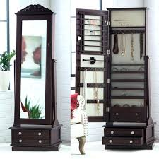espresso freestanding jewelry armoire living photo frames mirror jewelry armoire espresso finish influenced furniture hives honey chelsea