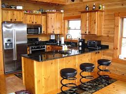 cabin kitchen design. Beautiful Cabin Granite Bar Table 5 Reasons To Choose Rustic Cabin Kitchens Awesome Kitchen  Design With Brown Wooden In Cabin Kitchen Design C
