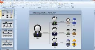 Organization Chart Template Powerpoint Free Creative Organization Chart Ideas For Presentations