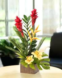 Tropical Flower Arrangements How To Video Artificial Tropical Flower  Arrangements Decorating Tropical Flower Arrangements Centerpieces