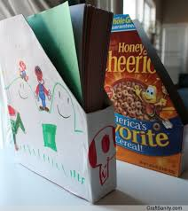 Magazine Holder From Cereal Box CraftsSanity On TV Crafty DIY Organizing Tips Using Recycled 54