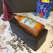 3d Cake Custom Bottle And Box Fondant Aggies Bakery Cake Shop
