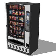 Revit Vending Machine Unique Snack Machine 48D Model FormFonts 48D Models Textures