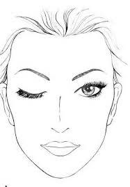 blank face template for makeup blank mac face charts makeup i m a makeup artist