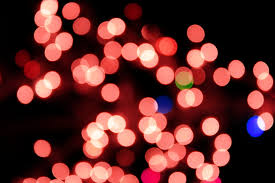 red christmas lights background. Brilliant Red Blurred Christmas Lights Red Intended Background