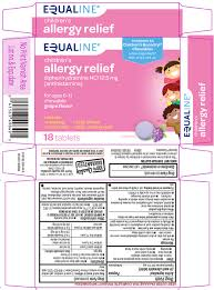 Allergy Relief Childrens Tablet Chewable Supervalu Inc