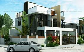 Two Storey Modern House Design  YouTubeTwo Storey Modern House Designs