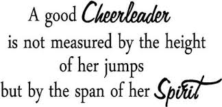 Cheerleading Quotes And Sayings QuotesGram Cheer Pinterest Amazing Cheerleading Quotes