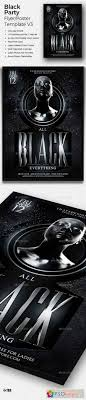 Black And White Flyer Template Black Party Flyer Template V24 24 Free Download Photoshop 13