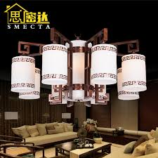 get ations new chinese red bronze chandelier modern floor living room chandelier imitation marble lamps full copper