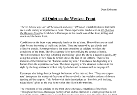 writing introductions for all quiet on the western front essays all quiet on the western front essays opt for quality