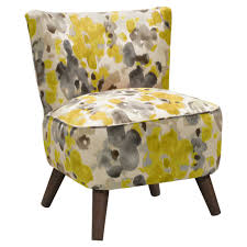 yellow and white accent chairs sevenstonesinc
