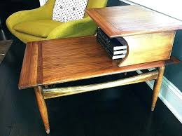 west elm end table lovely coffee tables mid century round storage craigslist