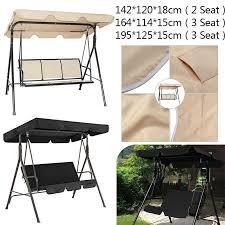 durable waterproof swing chair canopy