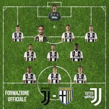 Juve-Parma. FORMAZIONE UFFICIALE JUVENTUS