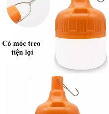 FREE SHIP ) Bóng đèn Led sạc tích điện 100w có móc treo không cần dây điện  - Đèn sạc không dây