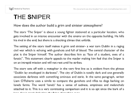 the sniper mood gcse english marked by teachers com document image preview