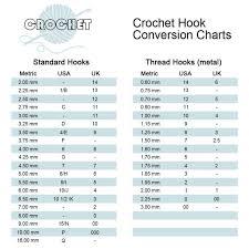 Wooden Crochet Hooks Michaels Yarn Weight Conversion Chart