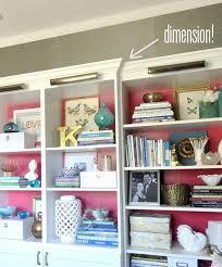 besta billy brass bookcases