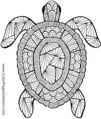 Color Pages Of Animals Animal Mandala Coloring Pages Printable