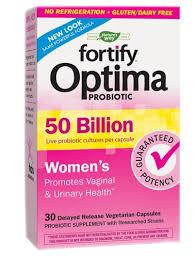 Nature's Way <b>Fortify</b>™ <b>Optima</b>® <b>Probiotic</b> -- 50 billion - 30 Delayed ...