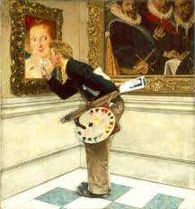 the art critic norman rockwell photo